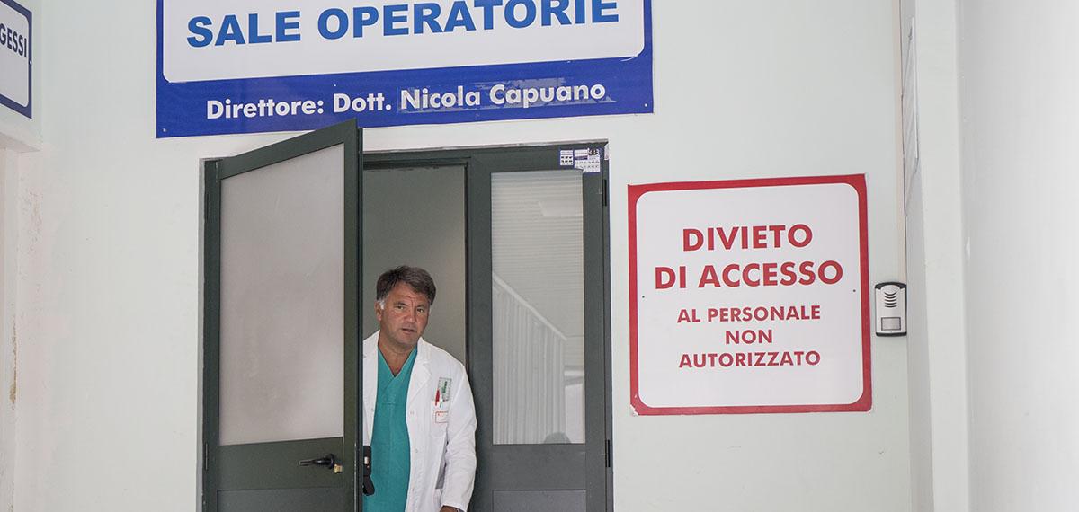 reparto nicola capuano Roma